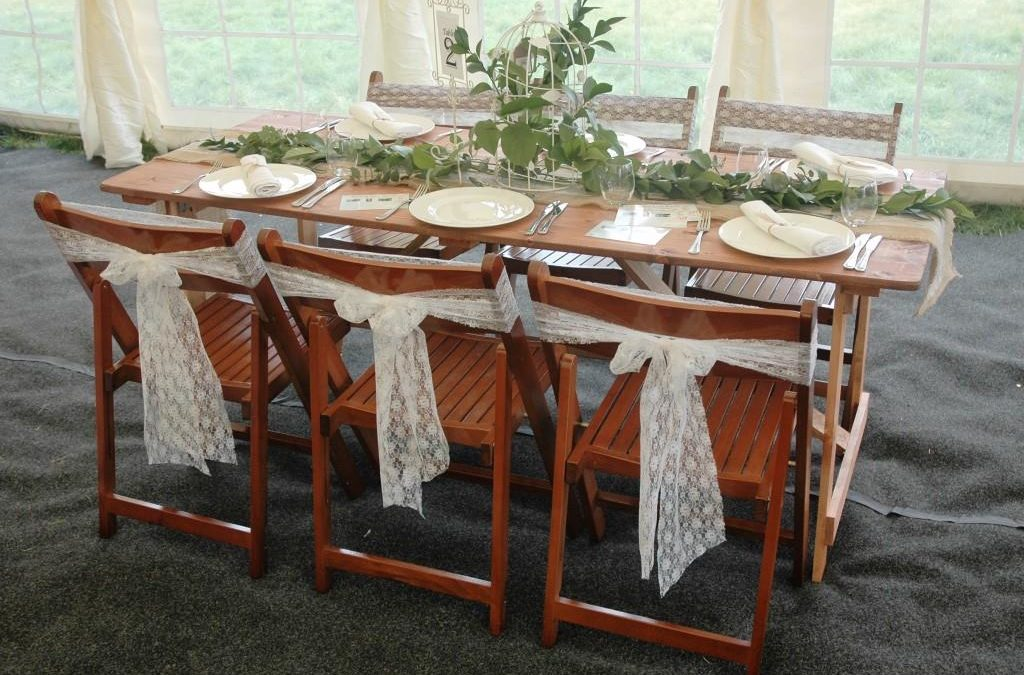 Rustic Tables And Chairs Southern Furniture Hire